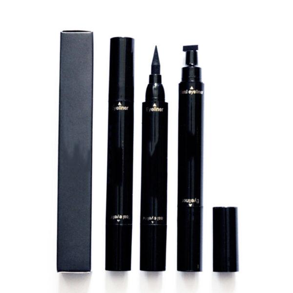 HDAIY Makeup Stamp Eyeliner Pencils Double end Long Lasting Liquid Waterproof Pencil Beauty Tools well SK88 1