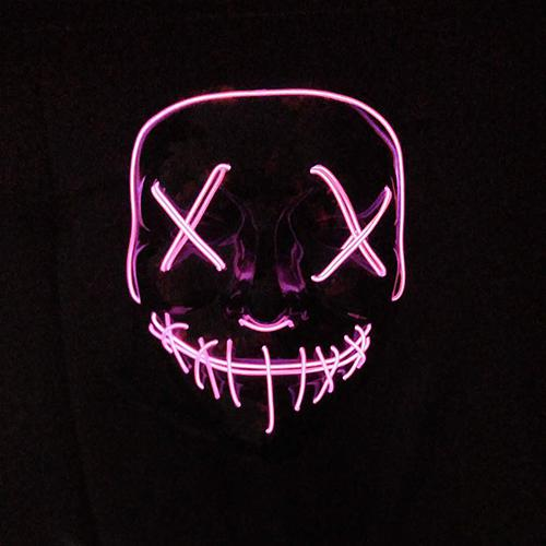 Halloween Mask LED Light Up Party Masks The Purge Election Year Great Funny Masks Festival Cosplay 6.jpg 640x640 6