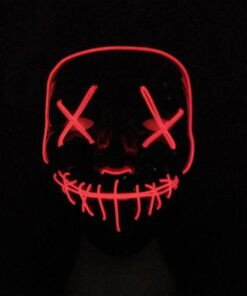 Halloween Mask LED Light Up Party Masks The Purge Election Year Great Funny Masks Festival Cosplay 7.jpg 640x640 7