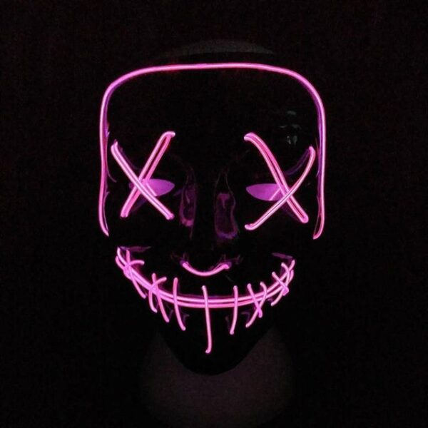 Halloween Mask LED Light Up Party Masks The Purge Election Year Great Funny Masks Festival Cosplay 8.jpg 640x640 8