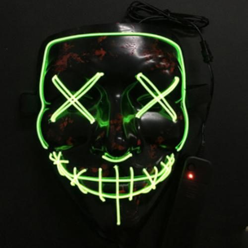 Halloween Mask LED Light Up Party Masks The Purge Election Year Great Funny Masks Festival