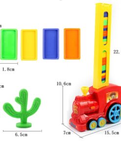 Robot Domino Train Toy, Robot Domino Train Toy