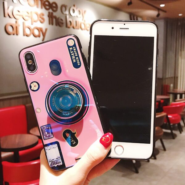 Luxury Blu ray retro camera Phone Cases For iPhone X XS MAX XR 6 6S 7 3 scaled