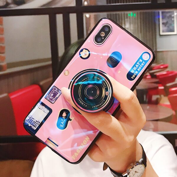 Luxury Blu ray retro camera Phone Cases For iPhone X XS MAX XR 6 6S 7 4 scaled