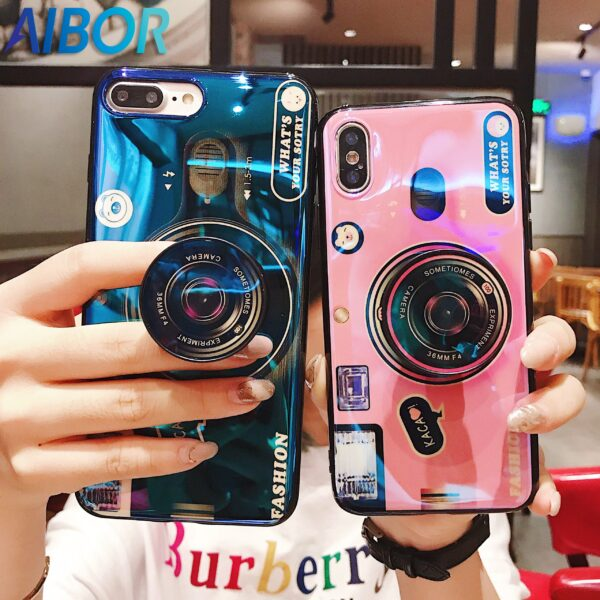 Luxury Blu ray retro camera Phone Cases For iPhone X XS MAX XR 6 6S 7 scaled
