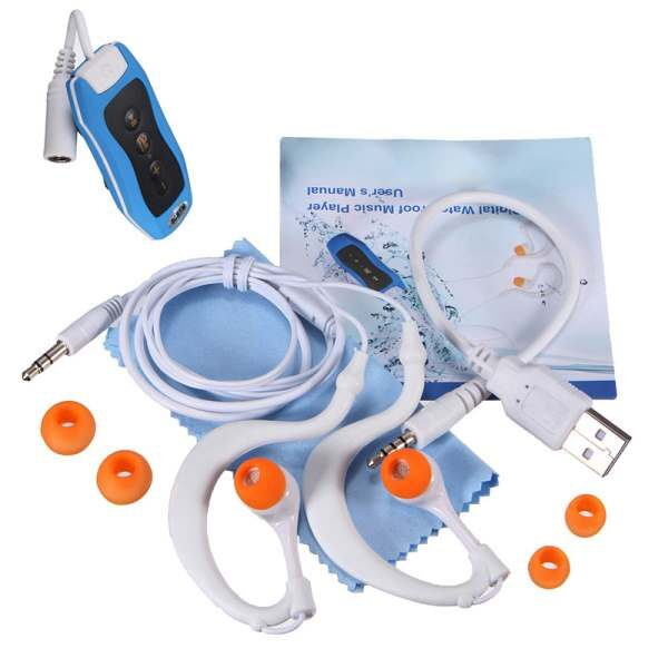 MAHA 8GB MP3 Player Swimming Underwater Diving Spa FM Radio Waterproof Surfing Headphones White Blue Green 4.jpg 640x640 4