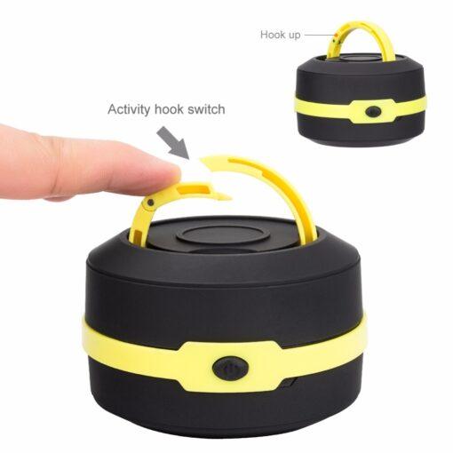flashlight, Pop-Up Collapsible LED Flashlight