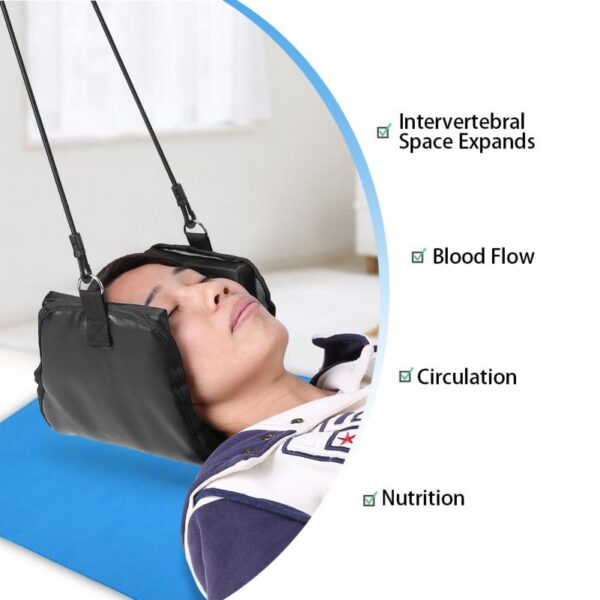 Portable Head Hammock Neck Traction Massage Pain Relief Neck Cervical Stretcher Traction Device Anti Fatigue Neck 10