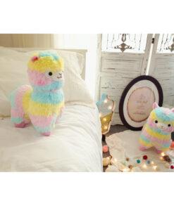 Rainbow Alpaca Stuffed Toy, Rainbow Alpaca Stuffed Toy