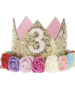 party hat, 1st, 2nd and 3rd Birthday Party Hats