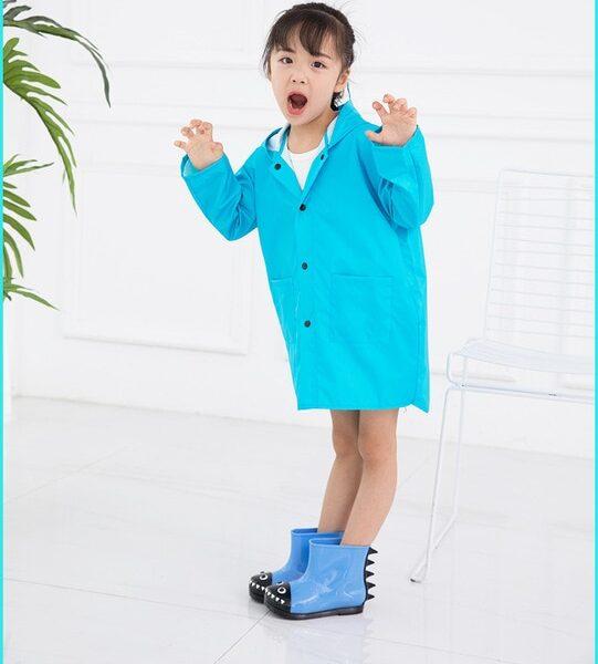 VILEAD Cute Small Dinosaur Polyester Baby Rain Coat Outdoor Waterproof Raincoat Children Windproof Poncho Boys Girls 1.jpg 640x640 1