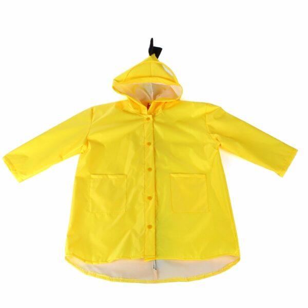 VILEAD Cute Small Dinosaur Polyester Baby Rain Coat Outdoor Waterproof Raincoat Children Windproof Poncho Boys Girls 3