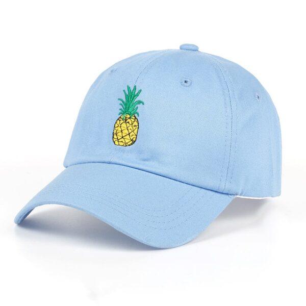VORON new Pineapple Embroidered Baseball Cap Funny Fresh Fruit Hipster Hat Pineapple Dad Hat Baseball Cap 2.jpg 640x640 2