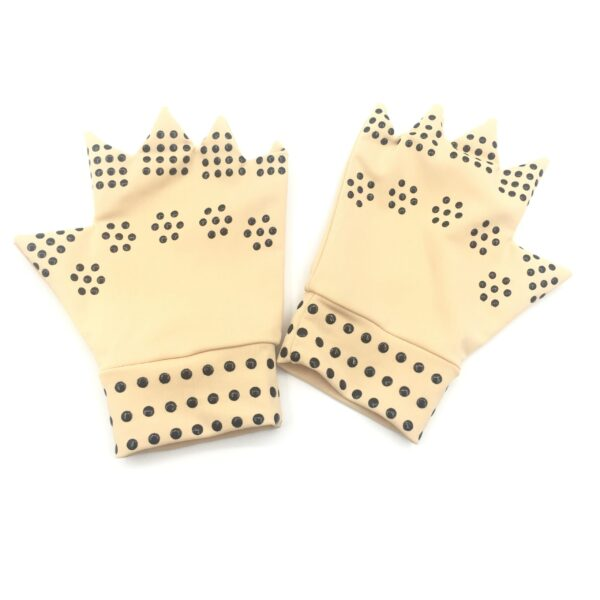 1 Pair Magnetic Therapy Fingerless Gloves Arthritis Pain Relief Heal Joints Braces Supports Health Care Tool 11 scaled