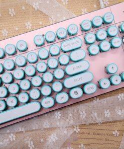 mechanical keyboard, Retro Typewriter Mechanical Keyboard