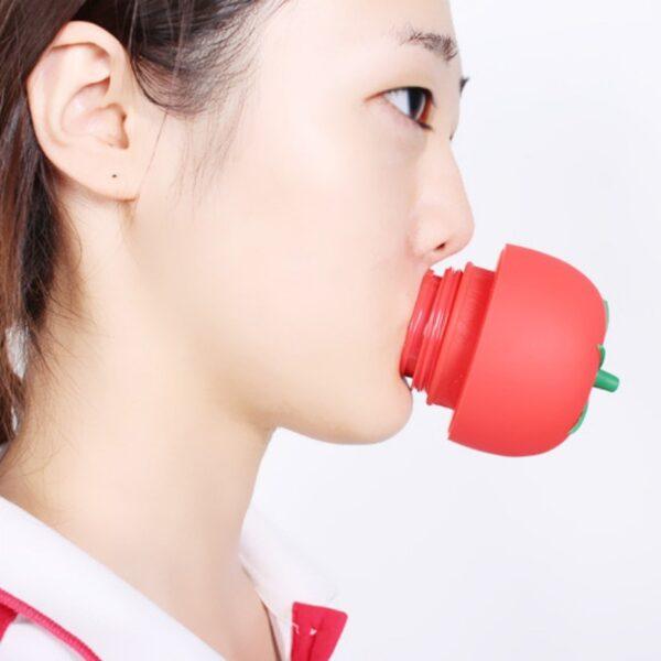 1PC Tomato Sexy Full lip plumper Enhancer lips plumper tool device Or Super Suction Family Body
