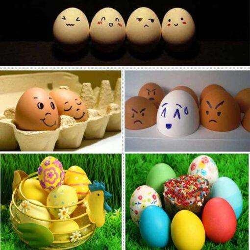 Wooden Simulation Egg, Wooden Simulation Egg