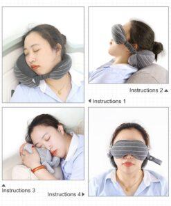 Travel Mask And Pillow, Travel Mask And Pillow