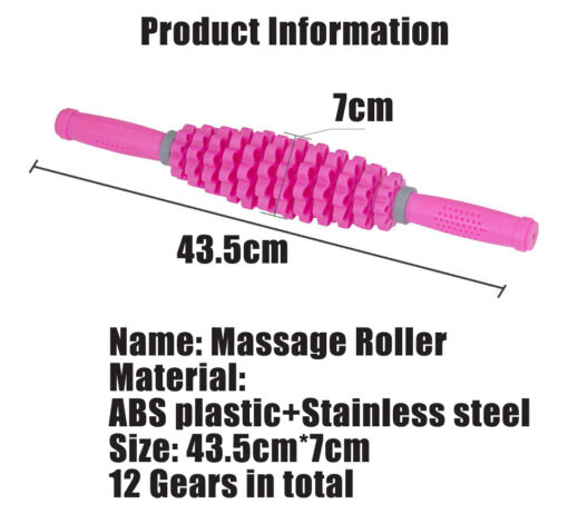 Detachable Muscle Roller, 3 in 1 Detachable Muscle Roller