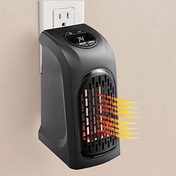 400W Mini Fan Heater Desktop Electric Heater Household Wall Handy Heater Stove Radiator Warmer Machine for 3