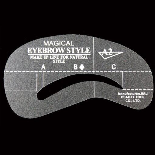 Magic Eyebrow Shaping Stencil, Magic Eyebrow Shaping Stencil