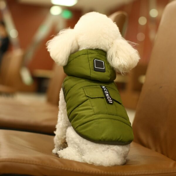 5 Size Pet Dog Coat Winter Warm Small Dog Clothes For Chihuahua Soft Hood Puppy Jacket 1