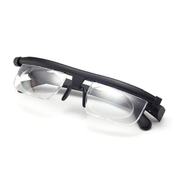 ເລນປັບຄວາມແຮງໃນການອ່ານແວ່ນຕາ Myopia ແວ່ນຕາແວ່ນຕາຕົວປ່ຽນແປງຄວາມຊັດເຈນ 1