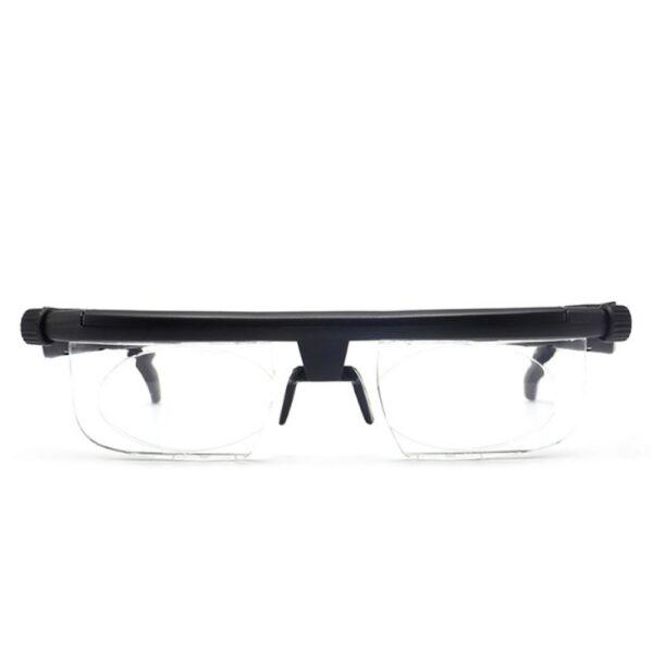 ເລນປັບຄວາມແຮງໃນການອ່ານແວ່ນຕາ Myopia ແວ່ນຕາແວ່ນຕາຕົວປ່ຽນແປງຄວາມຊັດເຈນ 4