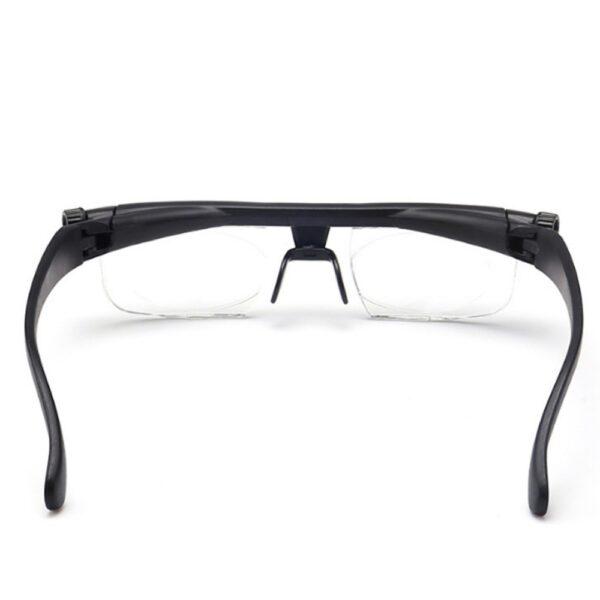 ເລນປັບຄວາມແຮງໃນການອ່ານແວ່ນຕາ Myopia ແວ່ນຕາແວ່ນຕາຕົວປ່ຽນແປງຄວາມຊັດເຈນ 5
