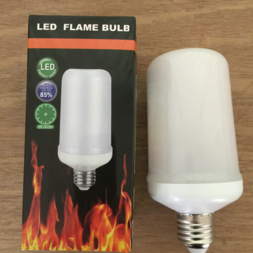 Flaming Light Bulb, LED – Flaming Light Bulb