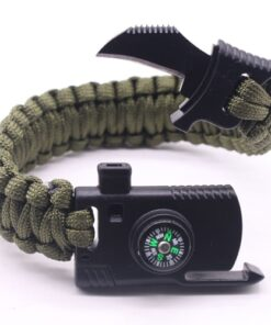 Camping Survival Bracelet, Multi-function Outdoor Camping Survival Bracelet