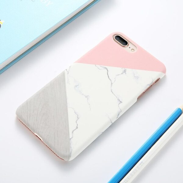 Case For iPhone XS Max XS X 6 7 Plus Case Marble Wood Ultra Slim Hard 1.jpg 640x640 1