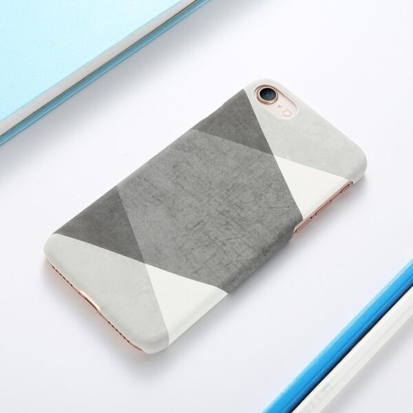 Case For iPhone XS Max XS X 6 7 Plus Case Marble Wood Ultra Slim Hard 2.jpg 640x640 2