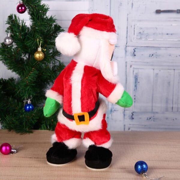 Christmas Electric Twerk Santa Claus Toy Music Dancing Doll Xmas navidad Christmas Gifts Toys Christmas Decorations 1