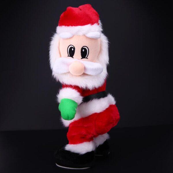 Christmas Electric Twerk Santa Claus Toy Music Dancing Doll Xmas navidad Christmas Gifts Toys Christmas Decorations 3