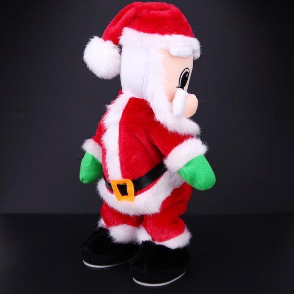 Christmas Electric Twerk Santa Claus Toy Music Dancing Doll Xmas navidad Christmas Gifts Toys Christmas Decorations 4