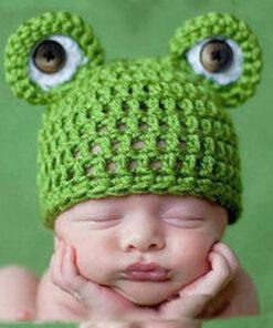 Knitted Newborn Baby Costume, Knitted Newborn Baby Costume
