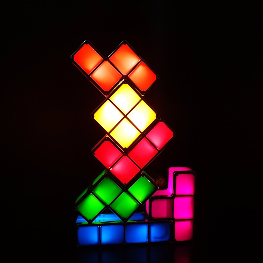 Tetris Puzzle Constructible Led Desk Lamp Joopzy High Quality Product