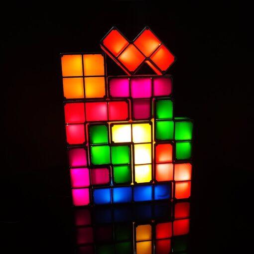 Tetris lamp, Tetris Puzzle Constructible LED Desk Lamp
