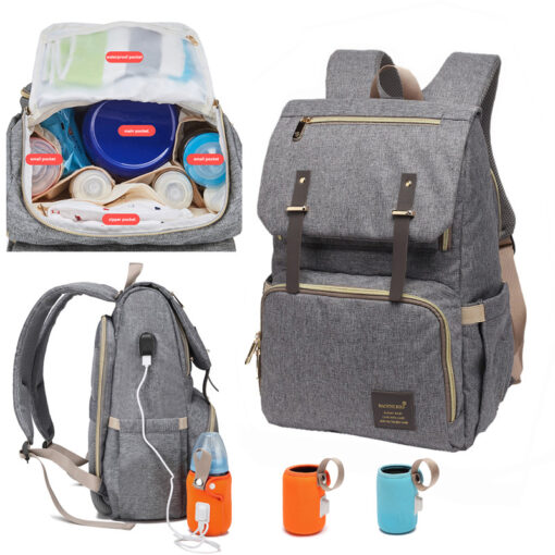 Multi function diaper bag, Multi Function Diaper Bag