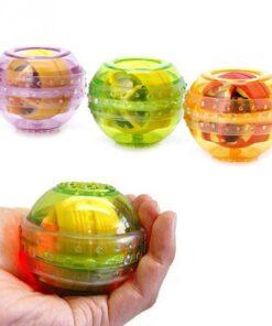 LED Flashing Wrist Arm Exercise Strengthener Force Ball, LED Flashing Strengthener Force Ball