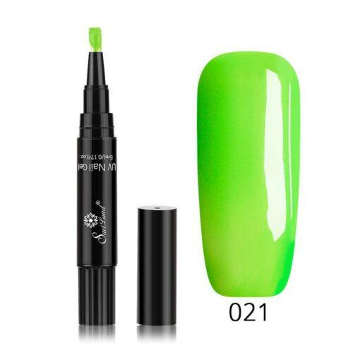 Step Gel Nail Brush Pens, The Easy 3 in 1 Nail Gel