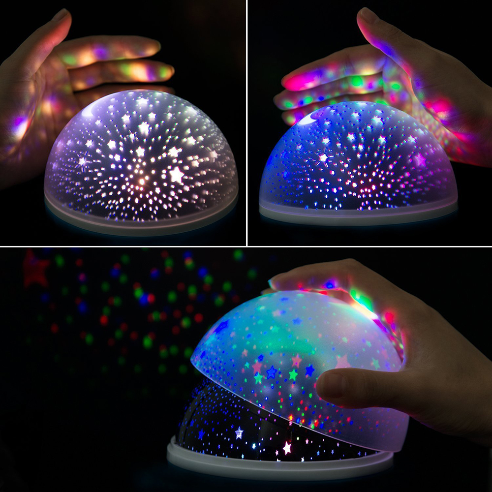 Starry Sky Led Light Projector Set A Good Atmosphere To Your House