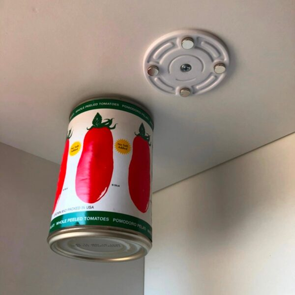 New Creative CanLoft Magnetic Canned Food Hangers Magnetic Hooks Save Space In Your Pantry Strong Refrigerator 3