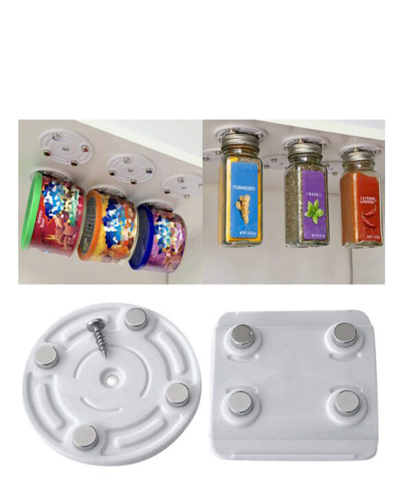 New Creative CanLoft Magnetic Canned Food Hangers Magnetic Hooks Save Space In Your Pantry Strong Refrigerator 510x510 1