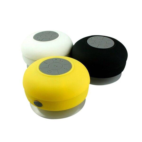 Portable Wireless Bluetooth Speakers Mini Waterproof Shower Speaker for IPhone MP3 Hand Free Car Speaker Bluetooth 3