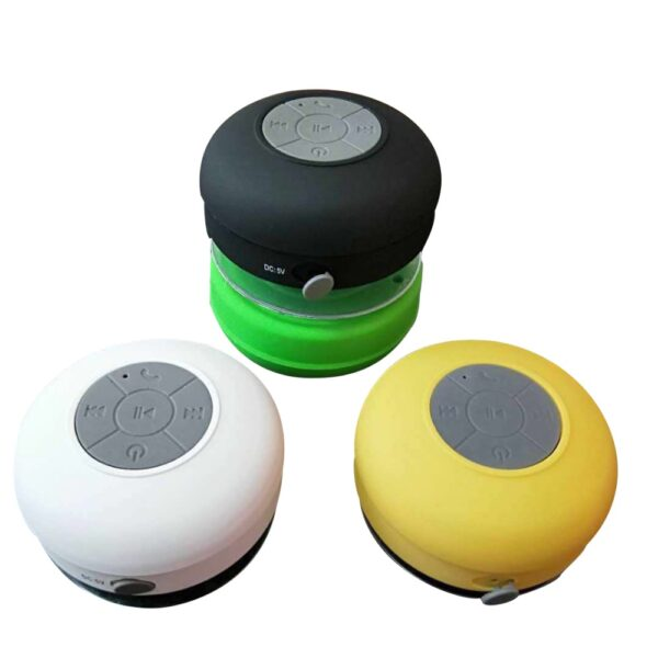 Portable Wireless Bluetooth Speakers Mini Waterproof Shower Speaker for IPhone MP3 Hand Free Car Speaker Bluetooth 4