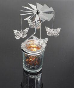 Romantic Fairy Rotating Candlestick, Romantic Fairy Rotating Candlestick