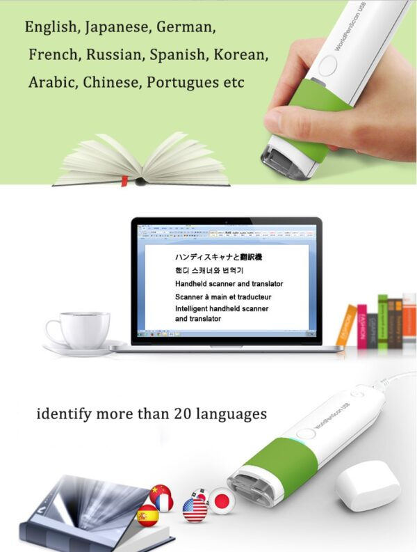 Scan Marker Pen Intelligent Automatic Scanning Pen Scan Marker Text Recognition Pen Scanner 1