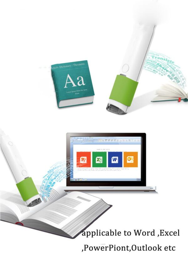 Scan Marker Pen Intelligent Automatic Scanning Pen Scan Marker Text Recognition Pen Scanner 2